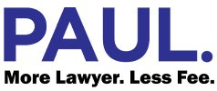 Paul. More Lawyer. Less Fee.