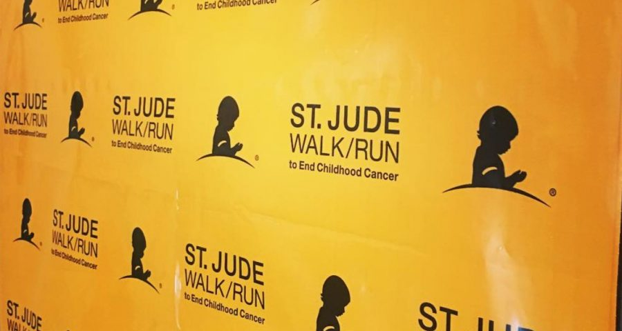 St. Jude Walk/Run to End Childhood Cancer poster