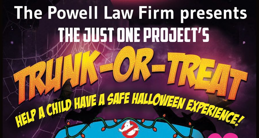 Just One Project's Trunk or Treat