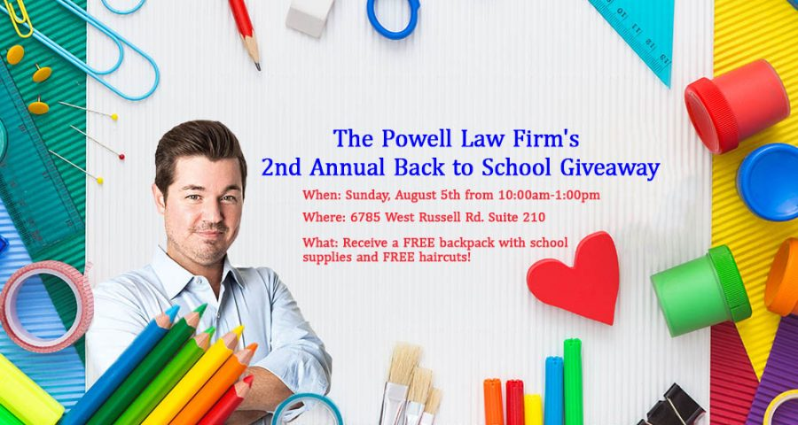 Second Annual Back to School Giveaway 2018