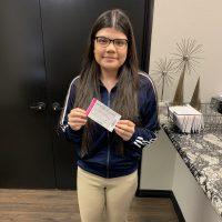 2019 Ticket giveaway winner