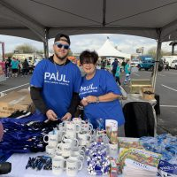 Paul Powell Booth - Sponsors for Walk for Wishes 2020