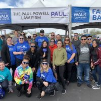 Paul Powell Make-a-Wish Walk 2020